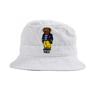 POLO RALPH LAUREN HAT 710834756002-WHITE