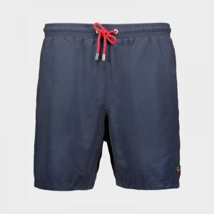 PAUL & SHARK SWIMMING TRUNKS WITH ICONIC BADGE C0P5001-013-BLUE