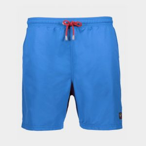 PAUL & SHARK SWIMMING TRUNKS WITH ICONIC BADGE C0P5001-342-COBALT BLUE