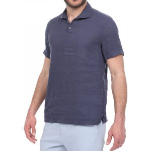SSEINSE POLO CAMICIA M/M CE660SS-BY-BLU NAVY
