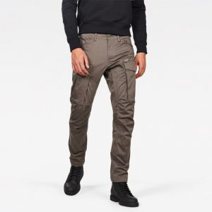 G-STAR RAW ROVIC ZIP 3D STRAIGHT TAPERED PANTS D02190-5126-1260-GS GREY