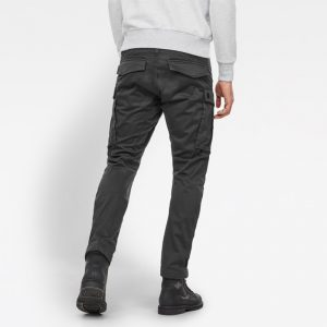 G-STAR RAW ROVIC ZIP 3D STRAIGHT TAPERED PANTS D02190-5126-976-RAVEN