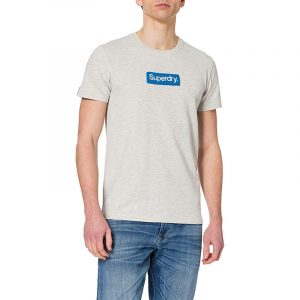 SUPERDRY CL WORKWEAR T-SHIRT M1011006A-5EW-OFF WHITE MARL
