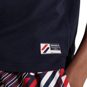 SUPERDRY SPORTSTYLE TWIN TIPPED POLO M1110208A-JKE-DEEP NAVY
