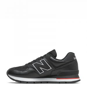 NEW BALANCE 574 LIFESTYLE SNEAKERS ML574DTD−BLACK/RED