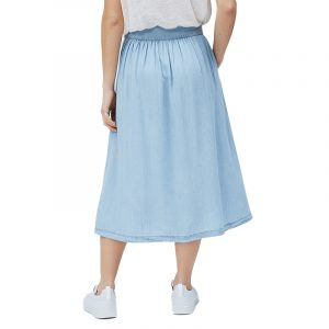 PEPE JEANS SIA BUTTONED SKIRT PL900921-000-DENIM