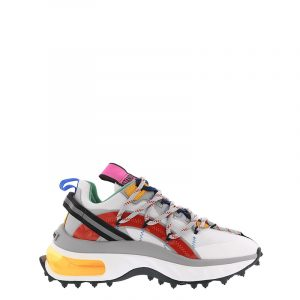 DSQUARED2 BUBBLE SNEAKERS SNW011416801659 M2059-WHITE/RED/GREY