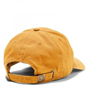 TIMBERLAND SOUNDVIEW COTTON CANVAS BASEBALL CAP TB0A1E9M-231-WHEAT