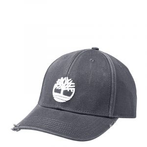 TIMBERLAND DISTRESSED BB CAP WITH TREE LOGO TB0A1EZL-033-GREY