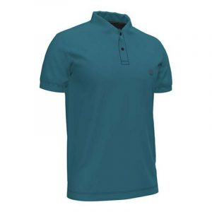 TIMBERLAND SS MILLERS RIVER JACQUARD PIQUE POLO TB0A2BNX-949-DEEP WATER