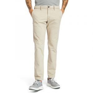 TIMBERLAND SARGENT LAKE STRETCH TWILL CHINO PANT TB0A2BYY-269-DK CHOCO