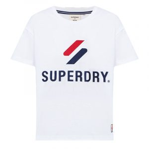 SUPERDRY SPORTSTYLE CLASSIC T-SHIRT W1010495A-01C-OPTIC