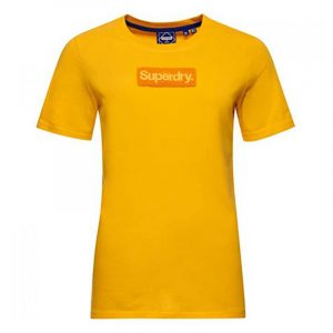 SUPERDRY CL WORKWEAR T-SHIRT W1010511A-QLI-SPRINGS YELLOW