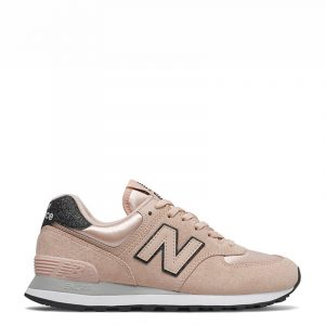 NEW BALANCE 574 LIFESTYLE SNEAKERS WL574FL2−ROSE WATER