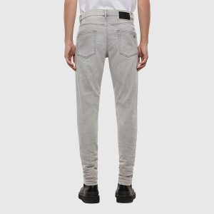 DIESEL D-STRUKT  JEANS TROUSERS 00SPW5-069RE-07-LIGHT GREY