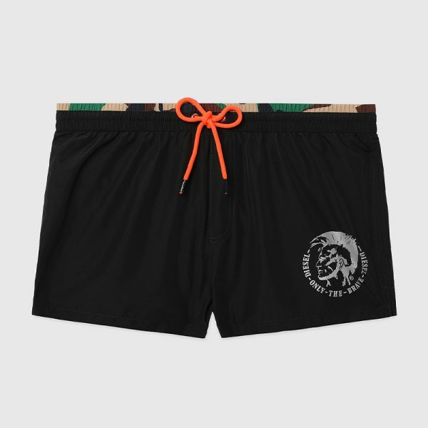 DIESEL BMBX-SANDY 2.017 SWIM SHORTS 00SV9T-0BCAY-900-BLACK