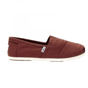 TOMS CLASSIC ESPADRILLES 10008362-HENNA RED CANVAS