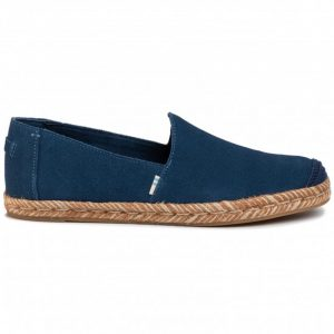 TOMS CLASSIC ROPE SOLE ESPADRILLES 10009758-NAVY WASHED