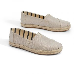 TOMS CLASSIC ESPADRILLES 10013508-NATURAL PEARLIZED