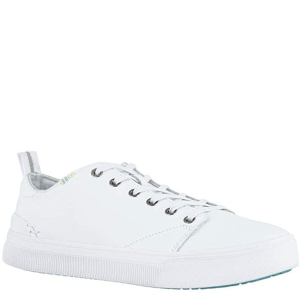 TOMS TRVL LITE LOW 10015030-WHITE LEATHER