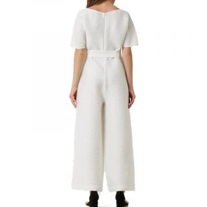 EMPORIO ARMANI DRESS 3H2D63 2NXHZ-0101 BIANCO CALDO