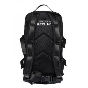 REPLAY BACKPACK WITH DOUBLE COMPARTMENT FM3506.000.A0330A 98-BLACK