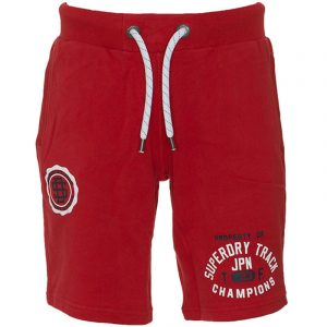 SUPERDRY TRACK AND FIELD LITE SHORT M71105AT-Z2E ACADEMY RED