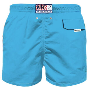 MC2 PANTONE SWIM SHORT PETROLEUM BLUE