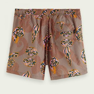 SCOTCH & SODA SHORT LENGTH – RECYCLED POLYESTER ALL-OVER PRINTED ΜΑΓΙΟ 160600-0217-MULTICOLOR/COMBO A