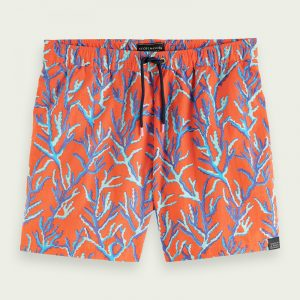 SCOTCH & SODA SHORT LENGTH RECYCLED NYLON ALL-OVER PRINTED ΜΑΓΙΟ 160601-0219-MULTICOLOR/COMBO C