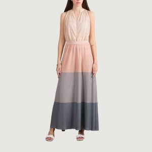 MARELLA VITTOR MAXI KNIT DRESS 33210212-005-MULTICOLOR