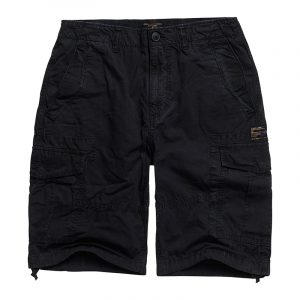 SUPERDRY PARACHUTE CARGO ΒΕΡΜΟΥΔΑ M7110249A-AFB-WASHED BLACK