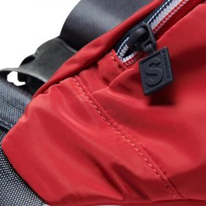 SUPERDRY SPORTSTYLE BUMBAG ΤΣΑΝΤΑ M9110405A-OPI-RISK RED
