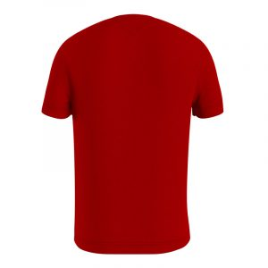 TOMMY HILFIGER T-SHIRT ΜΕ SIGNATURE ΡΙΓΑ MW0MW16572-XLG-PRIMARY RED