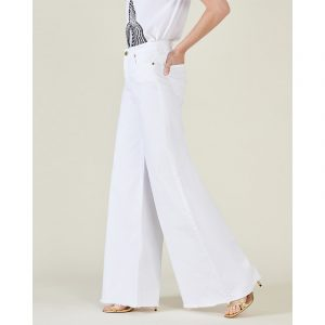 SILVIAN HEACH ΠΑΝΤΕΛΟΝΙ JEANS SIMIVALY(AP) PGP21775JE-WHITE