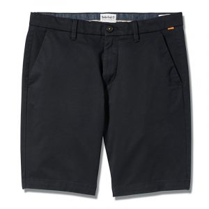 TIMBERLAND STRAIGHT CHINO SHORT TB0A2DFM-001-BLACK