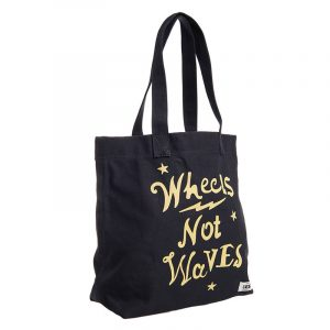 SUPERDRY ELSIE CANVAS GRAPHIC TOTE ΤΣΑΝΤΑ W9110291A-AFB-WASHED BLACK