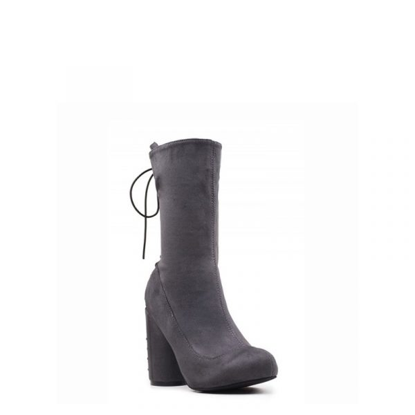 JEFFREY CAMPBELL SPINOFF BOOTS 0101001430-GREY