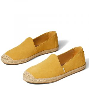 TOMS PISMO SUEDE 10016501-YELLOW