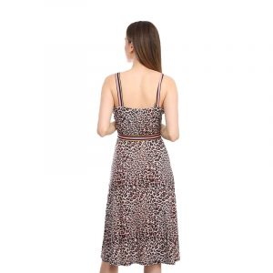 HALE BOB DRESS 9YLD6786-BRN BROWN
