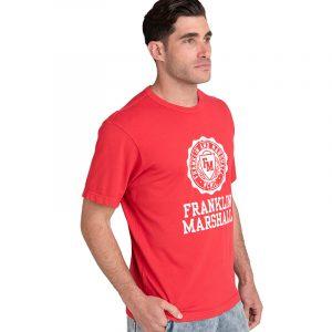 FRANKLIN MARSHALL ΜΠΛΟΥΖΑ JM3017.000.1001G34  320-TRUE RED