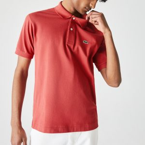 LACOSTE ΜΠΛΟΥΖΑ POLO L1212-67G-RED