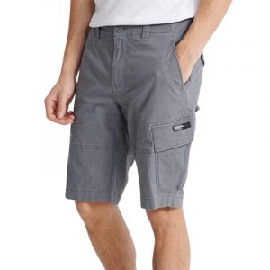 SUPERDRY CORE CARGO SHORTS M7110015A-HDP NAVAL GREY