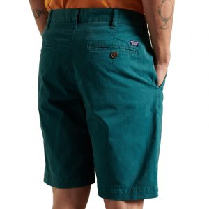 SUPERDRY INTERNATIONAL CHINO SHORT M7110018A-AB6 TEAL