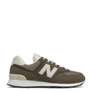 NEW BALANCE LIFESTYLE SNEAKERS CLASSIC RUNNING ML574SHP−BROWN