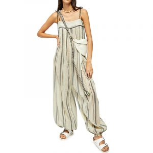 FREE PEOPLE DRESS OB1064899-2224 TAUPE COMBO