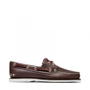 TIMBERLAND BOAT SHOES TB074035-214 MID BROWN