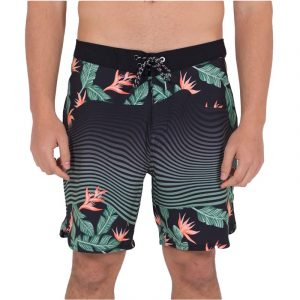HURLEY STATE BEACH 18′ SWIMSUIT CZ5984-H010 BLACK/GREEN