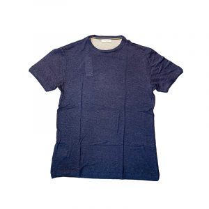 SSEINSE LINEN T-SHIRT M/M ME1589SS-BLUE