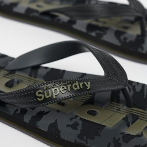 SUPERDRY FLIP FLOP MF310003A-A15 BLACK CAMO